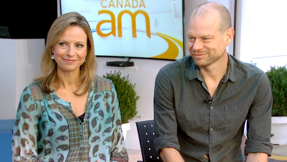 Co-directors Michelle Shephard and Patrick Reed appear on CTV's Canada AM on Monday, Sept. 14, 2015.