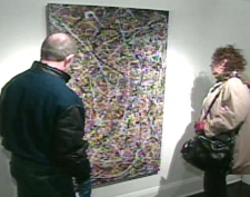 Visitors to Gallery Delisle on Saturday, Nov. 22, 2008 got to see a replica of the controversial painting.