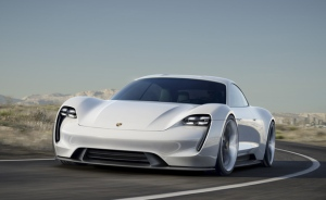 Porsche Mission E electric concept has power, range and rapid recharge (Photo: Porsche)