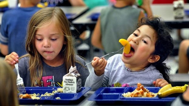 A healthy school meal