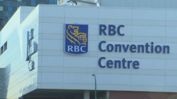 Tax fund due on RBC Convention Centre