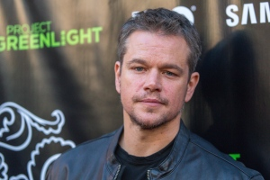 "Matt Damon attends The Project Greenlight Season 4 premiere of ""The Leisure Class"" at The Theatre At The Ace Hotel on Monday, Aug. 10, 2015, in Los Angeles. (Paul A. Hebert / Invision / AP)"
