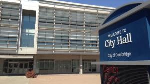 Cambridge City Hall is pictured on Wednesday, Sept. 16, 2015. (Marc Venema / CTV Kitchener)