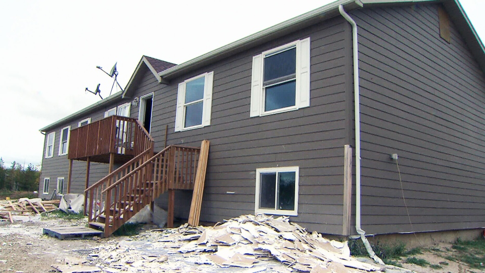 Homes Built For Peguis First Nation Flood Victims