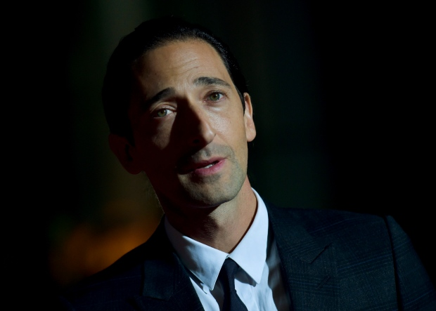 Adrien Brody Movies 2015 Actor Adrien Brody Poses For