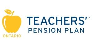 The Ontario Teachers' Pension Plan logo is shown.
