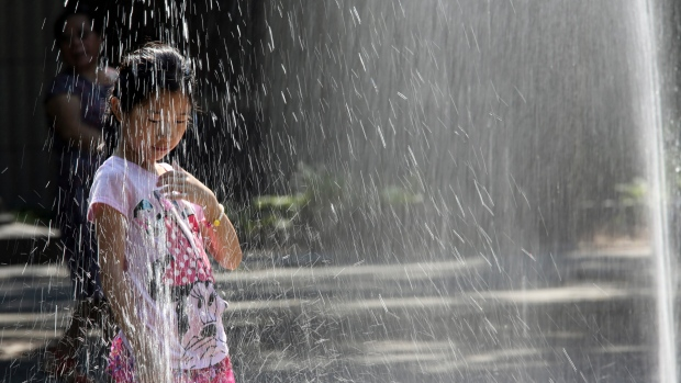 Heat and rainfall warnings are in effect for the region.