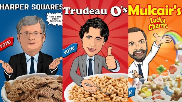 Jaime Christian's cereal box artwork