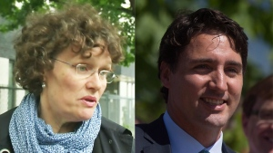 A new poll suggests NDP candidate Anne Lagace Dowson may be poised to win the Papineau riding, currently held by Liberal Leader Justin Trudeau. The poll's methodology, however, may discredit its findings. (CTV files, CP files)