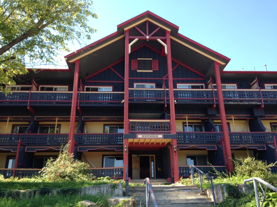 Work is underway to renovate and reopen the Talisman Resort in Grey Highlands. (Rob Cooper / CTV Barrie)