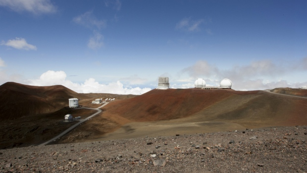 Hawaii telescope on Mauna Kea