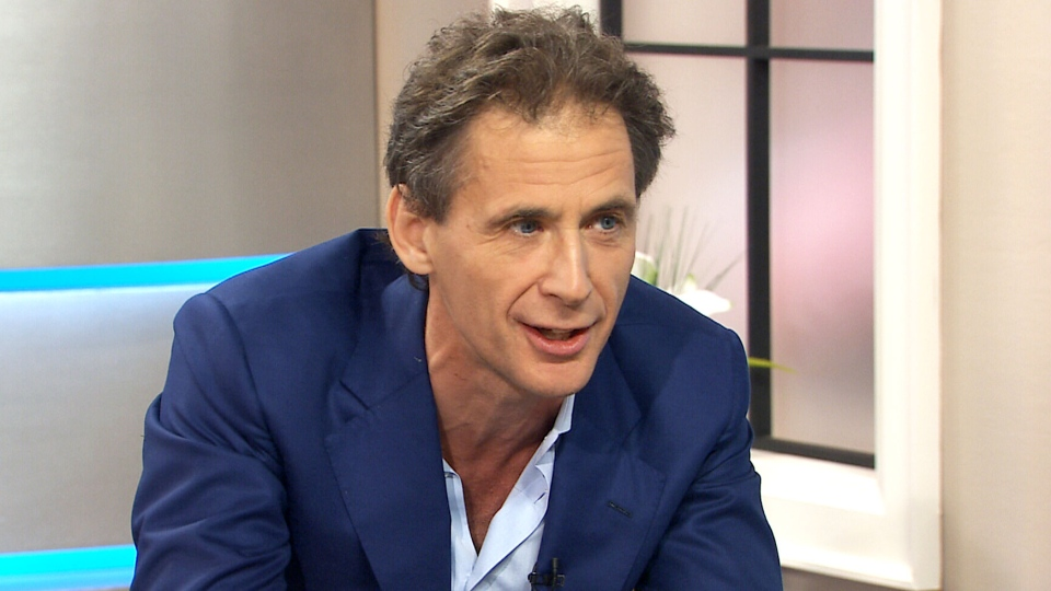 Author David Lagercrantz speaks with CTV's Canada AM in their Toronto studio on Friday, Sept. 18, 2015.