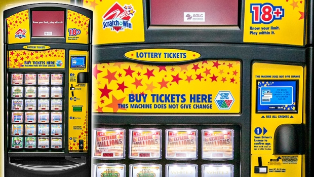 lottery ticket vending machine