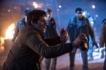 In this image released by 20th Century Fox, Dylan O'Brien appears in a scene from the film, 'Maze Runner: The Scorch Trials.' (Richard Foreman, Jr./20th Century Fox via AP)