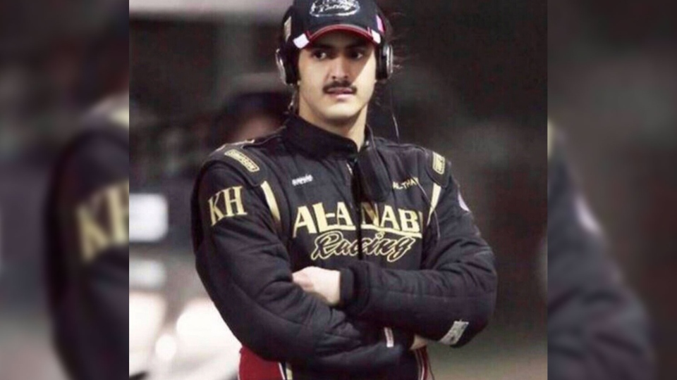 Khalid bin Hamad Al Thani was allegedly recorded speeding through a Beverly Hills neighbourhood in a Ferrari last week.