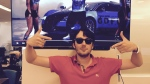 Turing Pharmaceuticals CEO Martin Shkreli posted this photo of himself to his Twitter account. (@MartinShkreli)
