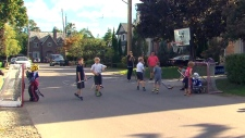 City cracking down on sporting equipment on street