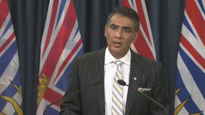 Innovation and Citizens' Services Minister Amrik Virk has ordered a full review after a privacy breach at the Ministry of Education. Sept. 22, 2015. (CTV)