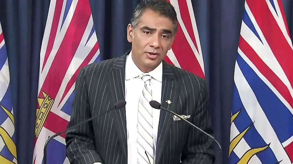 B.C. Innovation and Citizens' Services Minister
