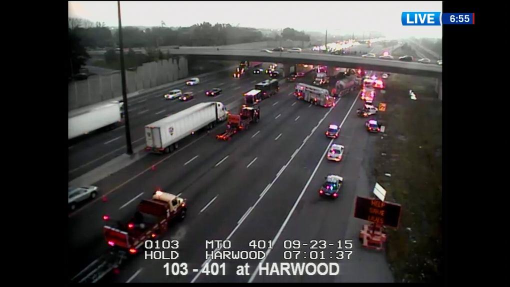 Morning Update: Major crash on EB 401 in Ajax   CTV News Toronto
