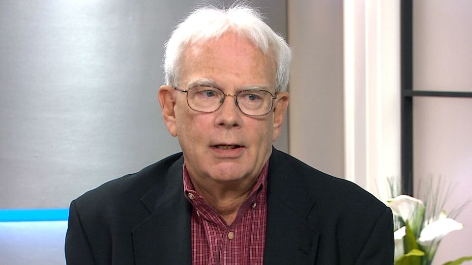 Jack Burnett, managing editor of the Old Farmer's Almanac, appears on CTV's Canada AM on Wednesday, Sep. 23, 2015.
