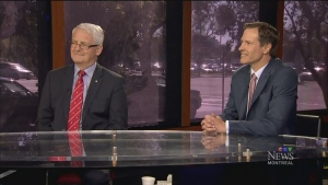 CTV Montreal: Debate: Marc Garneau and James Hughes