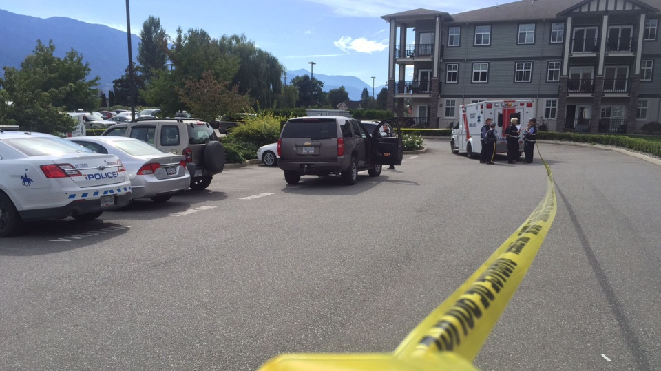 Police responded to reports of a man holding an object believed to be a knife near his stomach in the 1500-block of MacKay Crescent in Agassiz on Sept. 23, 2015.