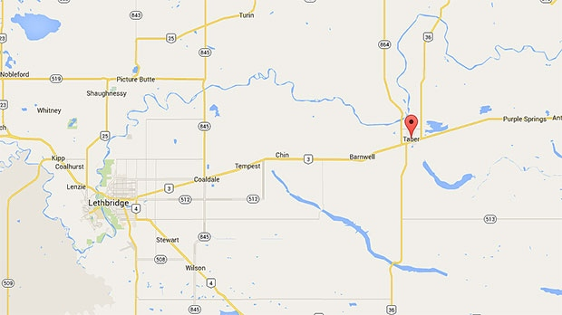 Town of Taber (Google Maps)