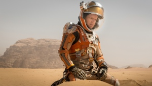 'The Martian' with Matt Damon. (2015 Twentieth Century Fox)