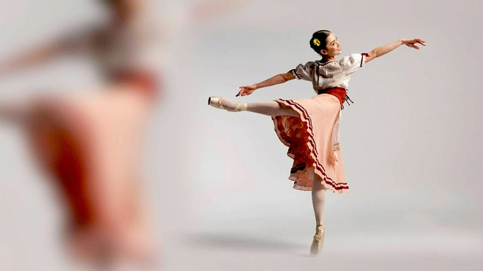 Ballerina Lucila Munaretto dances in the Coastal City Ballet production of Hansel and Gretel.