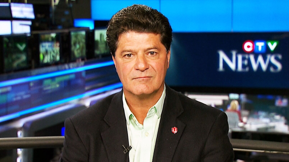 Unifor National President Jerry Dias speaks with CTV's Question Period on Sept. 27, 2015.