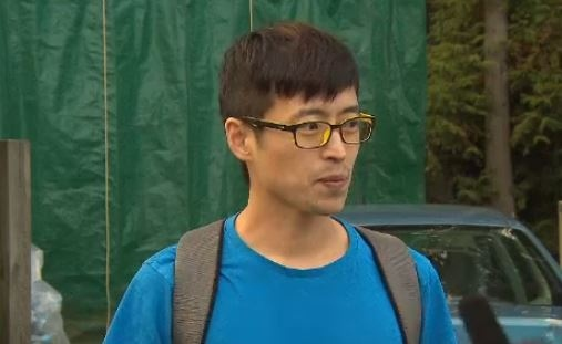 Officials say that 32-year-old Suk Gum Lim was not prepared to spend the night outside when he became lost on Grouse Mountain Saturday.
