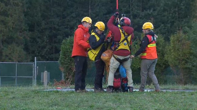 Suk Gum Lim became lost and injured on North Vancouver's Grouse Mountain Saturday night, causing an emergency response from North Shore Rescue, a volunteer-based rescue group. It's the latest in a spate of calls to the rescue group this past summer.