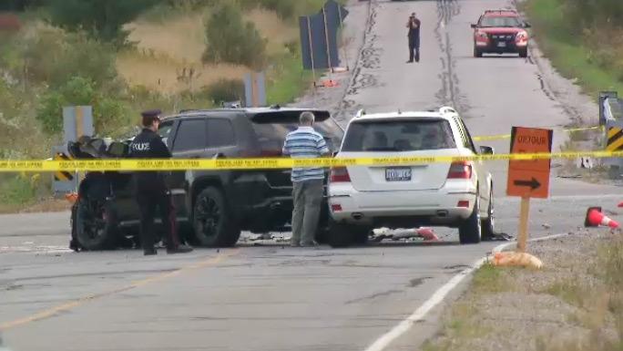 Fatal crash in Vaughan