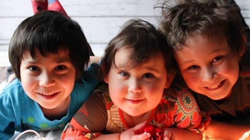 Harry, Millie and Daniel Neville-Lake
