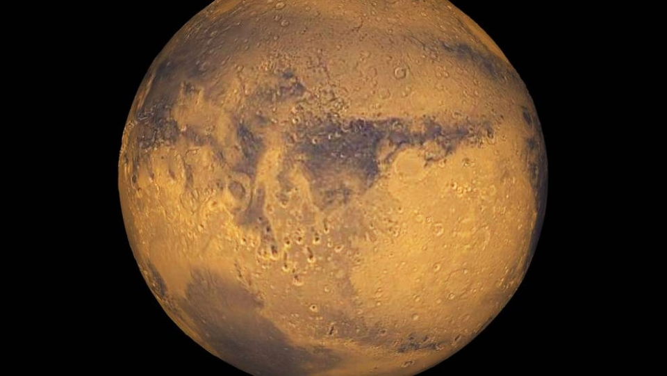 NASA says its scientists have cracked a mystery on Mars and it will reveal the details on Sept. 28, 2015. (NASA / Greg Shirah)