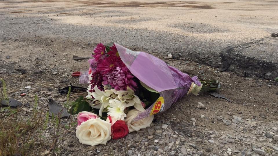 Memorial for victims of Vaughan crash