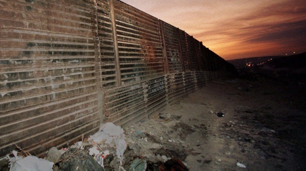 Mexico-U.S. border wall