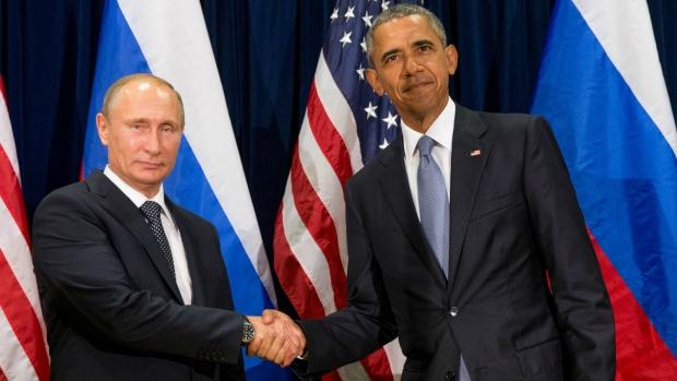 Obama and Putin meet at United Nations