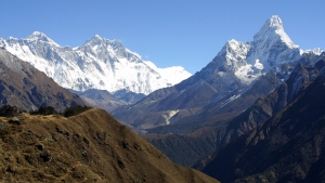 Mount Everest is pictured. (Momentum/shutterstock.com)