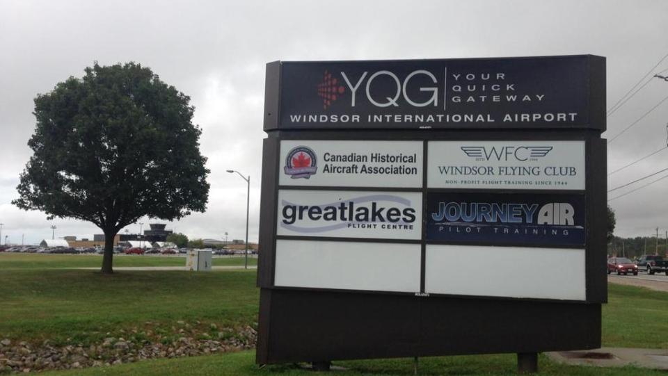 Windsor airport