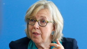 Elizabeth May shares foreign policy positions