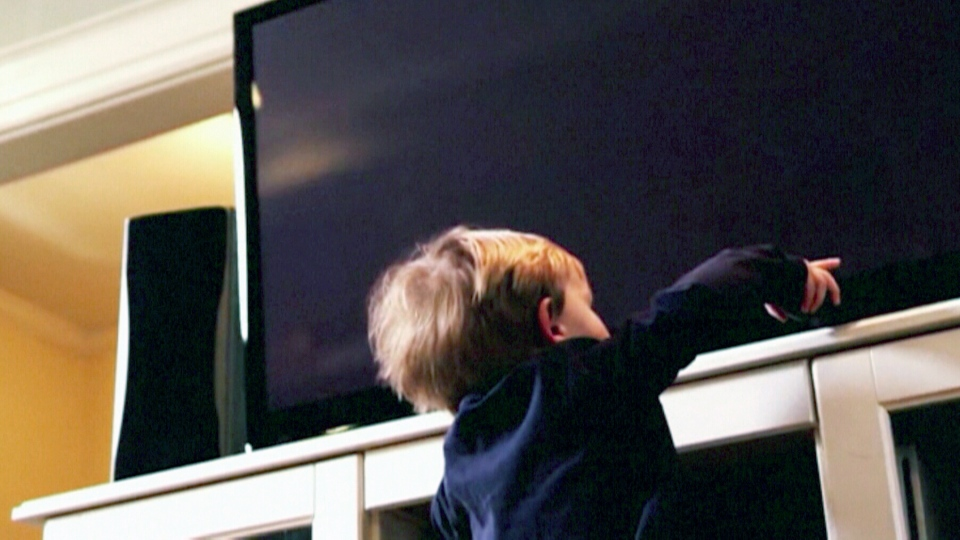 Research is sounding the alarm on a growing number of injuries involving children and toppled-over televisions.