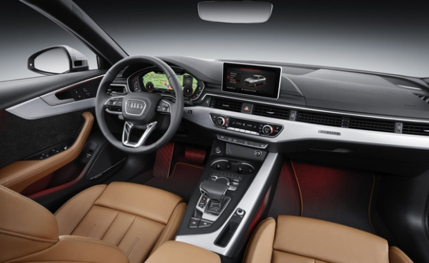 2017 audi a4 first drive the best interior in its class. Black Bedroom Furniture Sets. Home Design Ideas