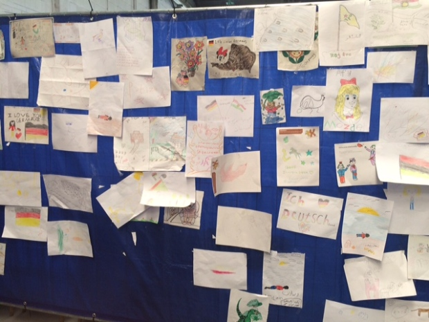 Migrant drawings