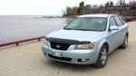 Lucille Lavoie's car that was stolen Tuesday night in Winnipeg.