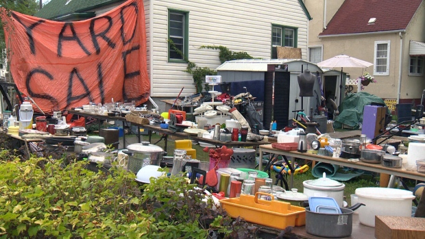 court orders months long yard sale in edmonton shut down ctv news. Black Bedroom Furniture Sets. Home Design Ideas