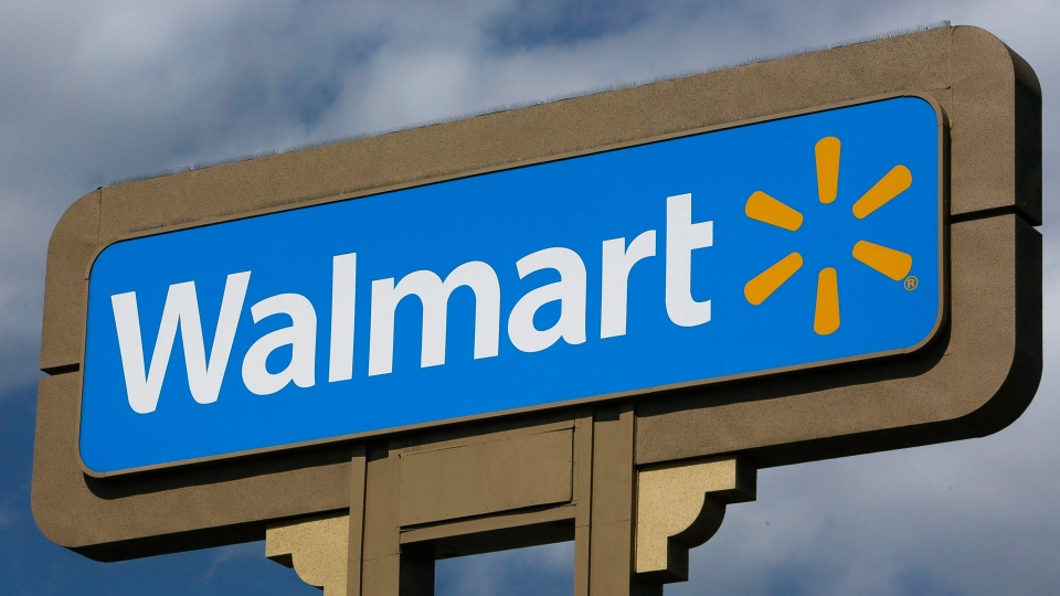 Two Winnipeg Walmarts will no longer be open for 24 hours. (AP Photo/Damian Dovarganes)