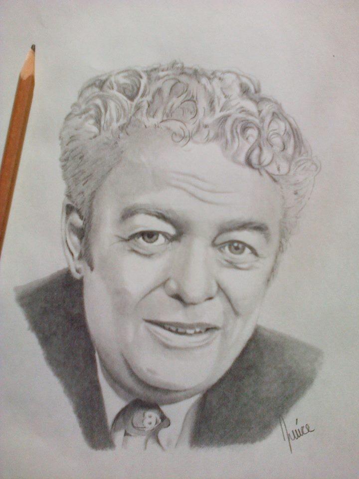 Max Keeping Pencil Portrait