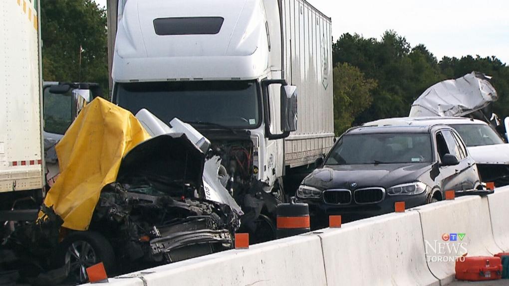 Boy, 10, dies of injuries sustained in Highway 401 crash